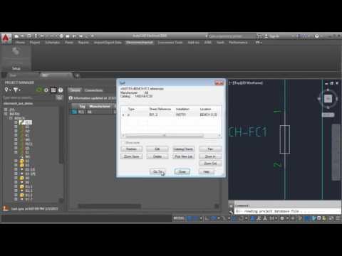 Autodesk AutoCAD Electrical - interoperability autodesk inventor video