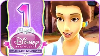 Disney Princess: My Fairytale Adventure Walkthrough Part 1 (Wii, PC) ❣ Belle's Story Chapter 1 ❣