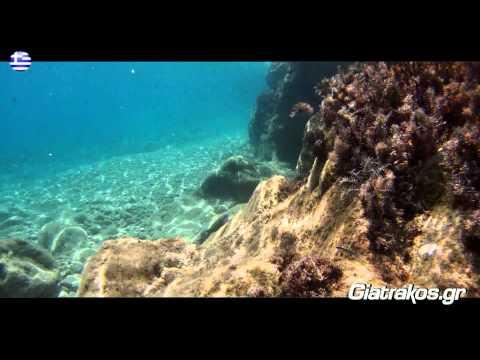 Agios Prokopios Naxos Giatrakos GoPro underwater video