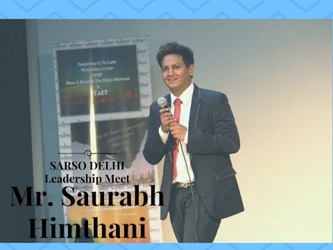 Sarso Delhi-Leadership Meet-Saurabh Himthani