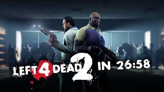 Left 4 Dead 2 - in 26:58 - Duo Speedrun [No DLC - TAS]