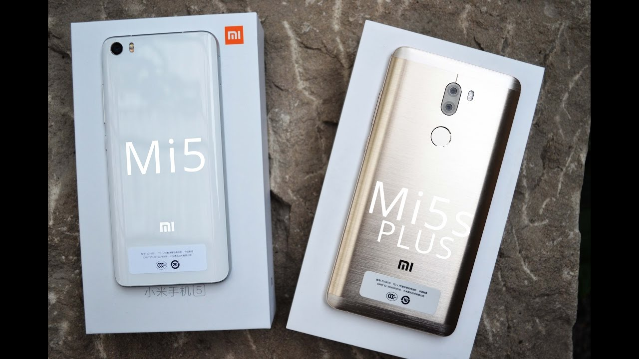 Xiaomi Mi5s Plus vs. Xiaomi Mi5 - Detailed view ...
