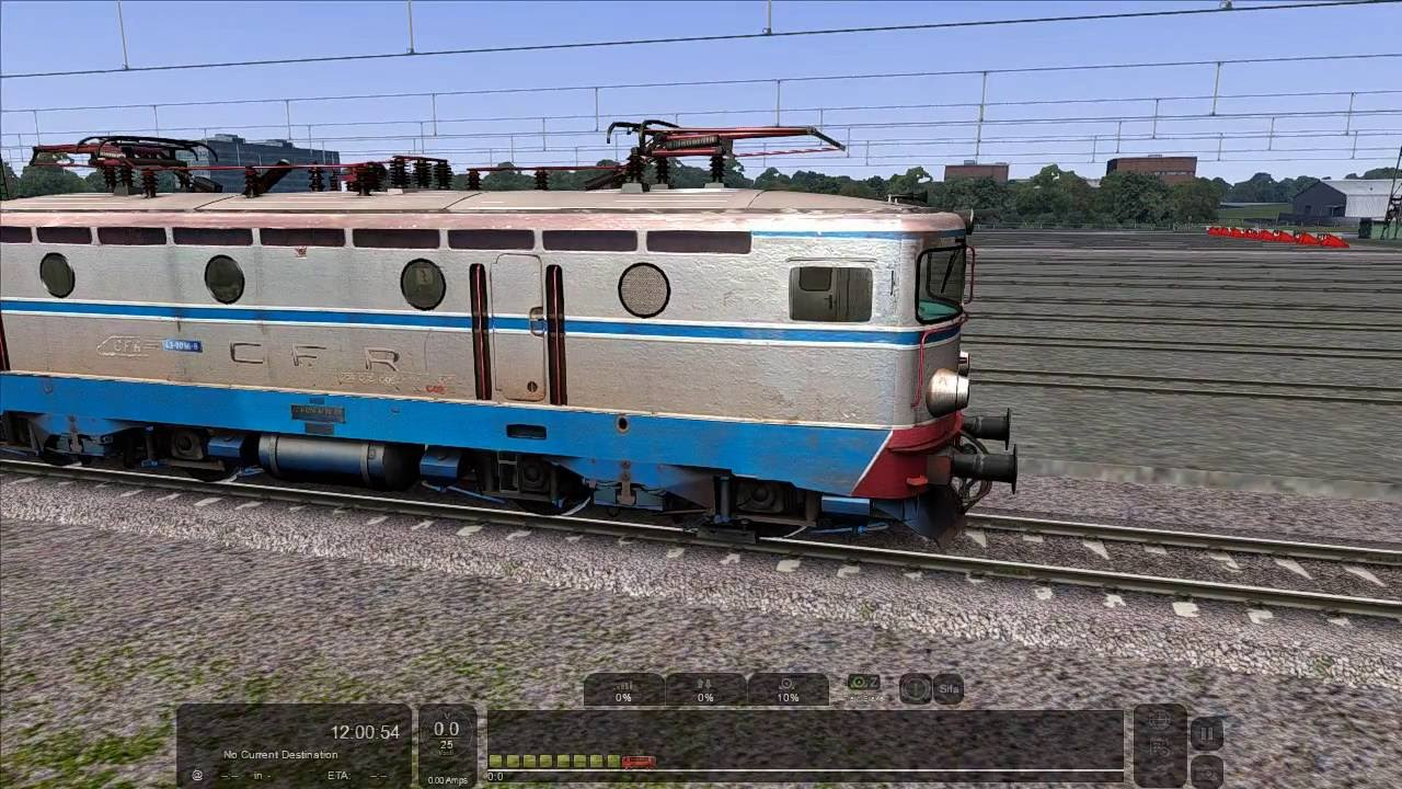 RailWorks 2016 Lokomotive CFR LE 43-0096-8 v.2 Manual (addon RO) #1