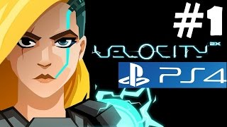 Velocity 2X PS4 Walkthrough Part 1 Gameplay Let