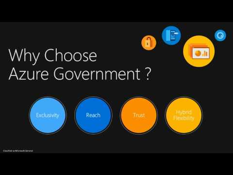 Microsoft Azure Government: Security Differentiation (GOV)
