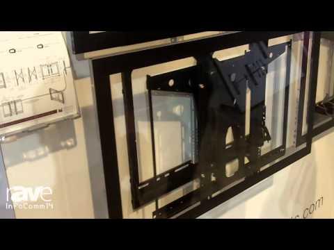 InfoComm 2014: Premier Mounts Presents the LMVS Video Wall Mount