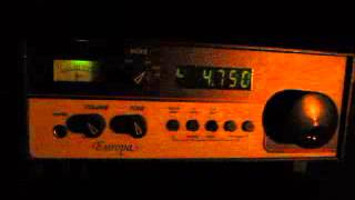 Bangladesh Betar 4750 kHz received in Germany