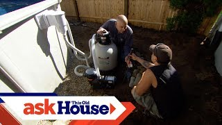 How to Wire an Above Ground Pool Pump