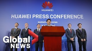 Huawei files lawsuit against U.S. government | Global News