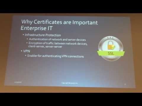 Live and die by certificates by Mike Cooper