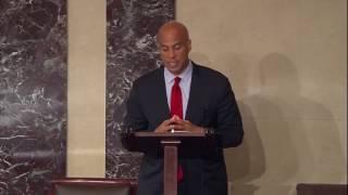 Senator Cory Booker on the Confirmation of Judge Martinotti
