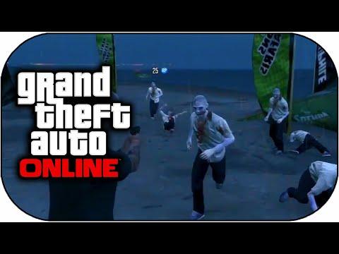 GTA 5 Online - NEW Zombie Apocalypse Mission in GTA 5 Online ...