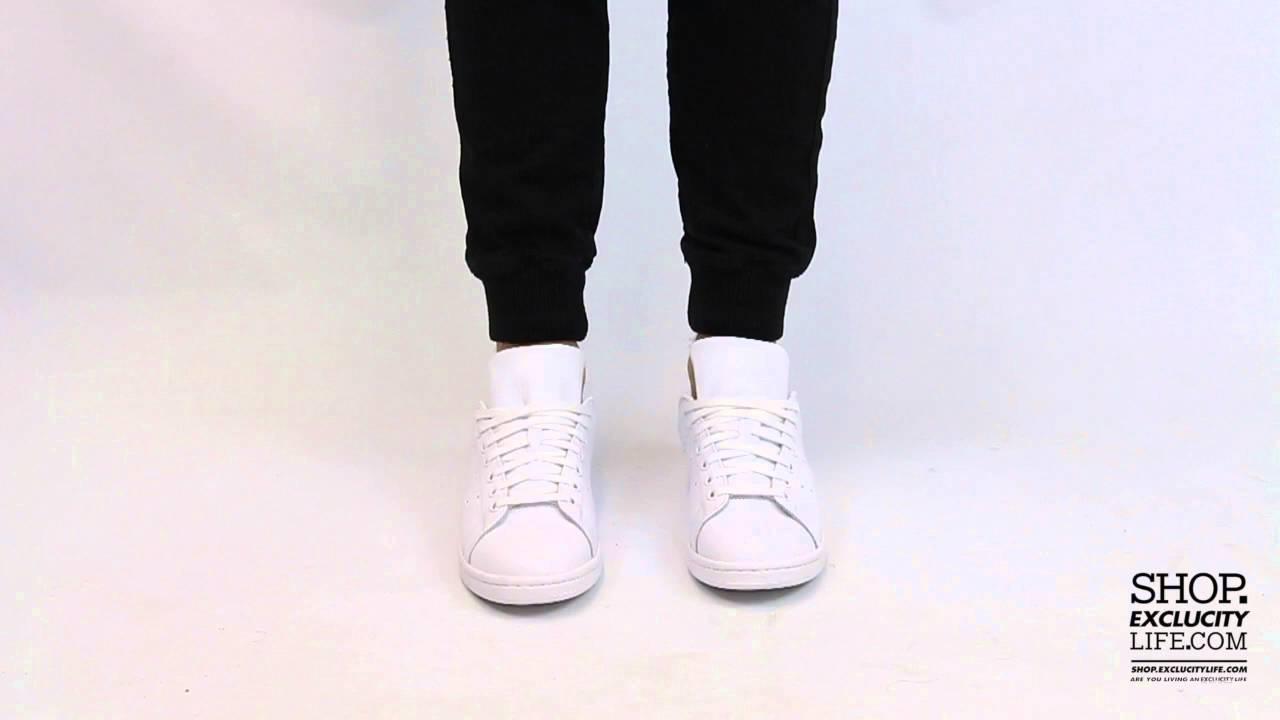 Adidas Stan Smith All White Review  On Feet YouTube