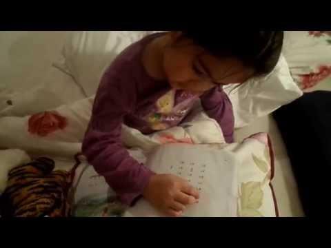 น้องเวียงพิงค์อ่านสะกดคำในหนังสือมานะมานีบทที่1