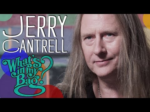 Jerry Cantrell - What's In My Bag?
