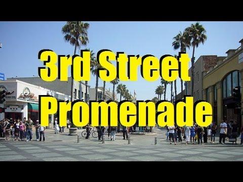Streetwalker: 3rd Street Promenade Santa Monica