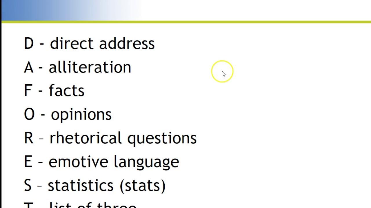 AQA Paper 2 Letter Writing Task