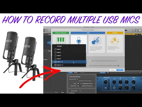 How Do You Record Multiple USB Mics On A Laptop? (Mac)