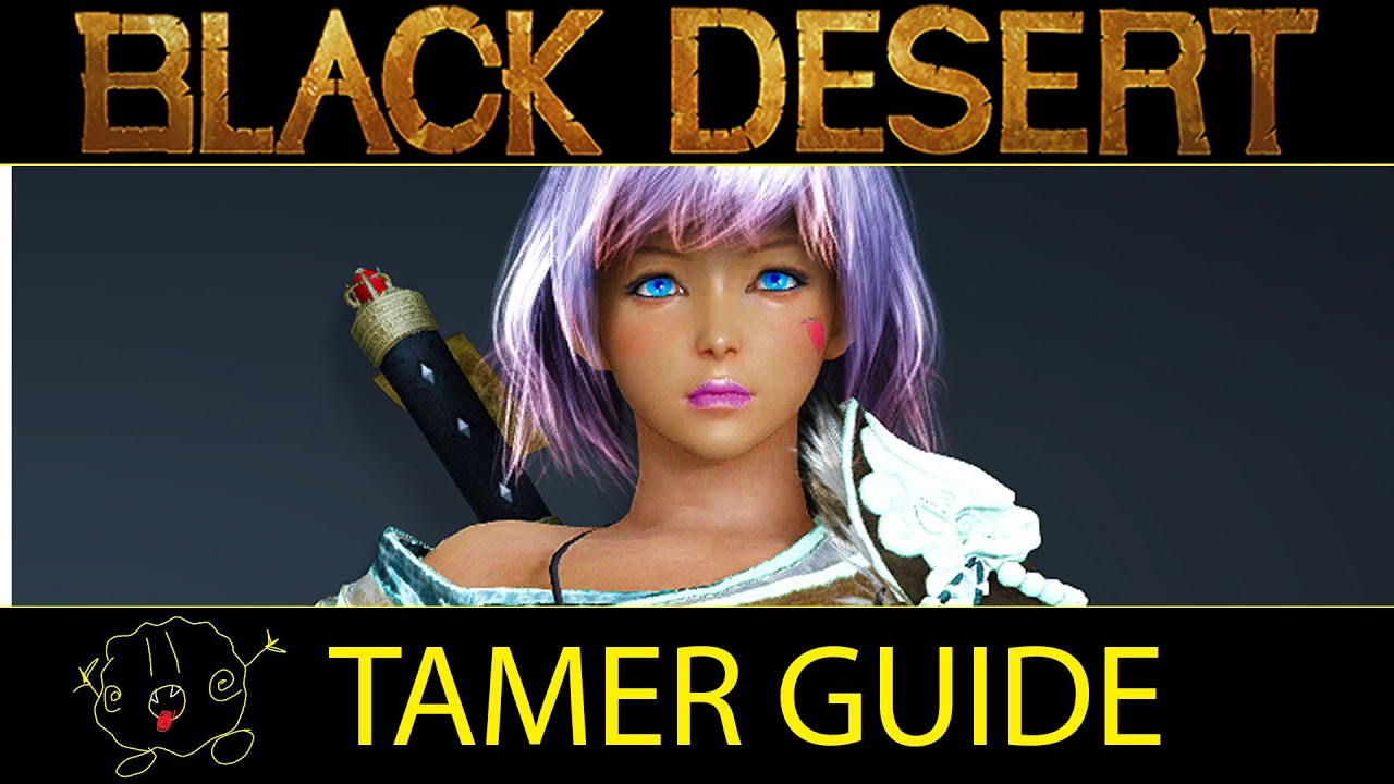 black desert tamer guide