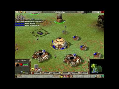 Empire Earth Prehistoric 2 Nano 2vs2