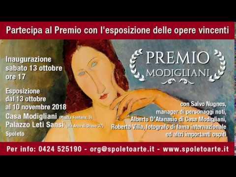 Salvo Nugnes e Alberto D'Atanasio presentano il Premio Modigliani