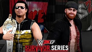 WWE Survivor Series 2016: The Miz vs. Sami Zayn (Intercontinental Championship)