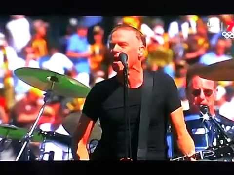 Bryan Adams live at the 2015 AFL Grand Final (complete version)