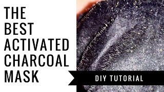 HOW TO | Activated Charcoal Mask Like Never Before