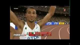 توفيق مخلوفي يحتل المركز الثاني ويتأهل لنهائي 1500 متر ببطولة العالم المقامة في بكين الصينية 2015