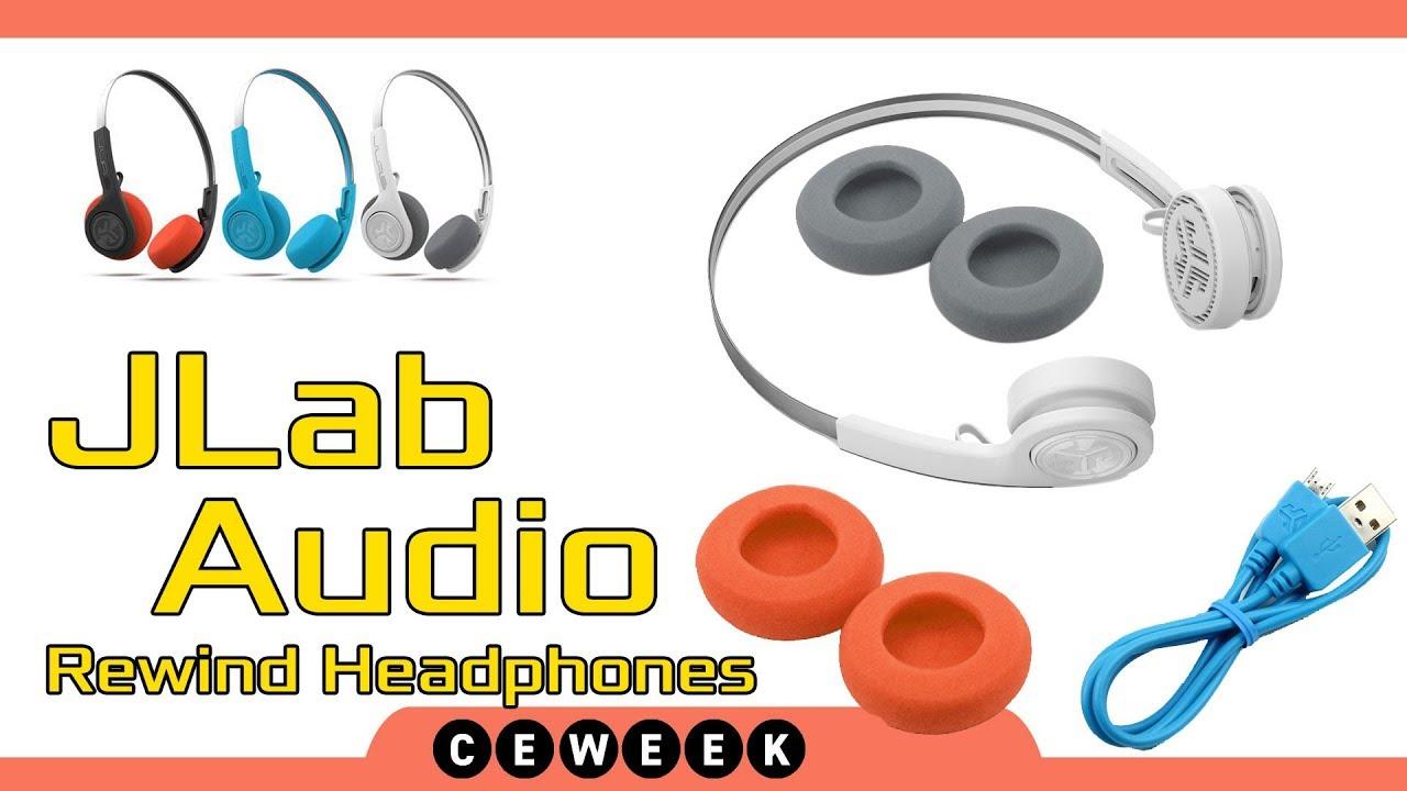 ebba4b04aaa Rewind Wireless Retro Headphones by JLab Audio — Otakus & Geeks