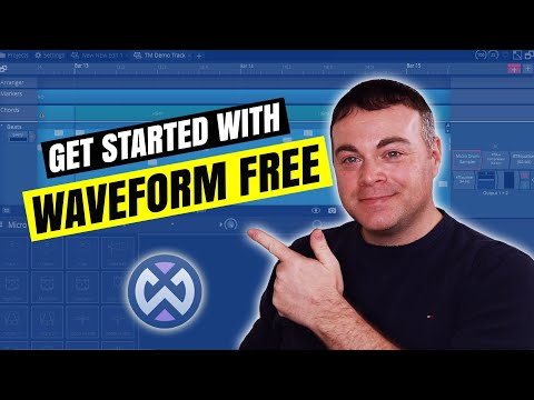 Tracktion Waveform Free Tutorial - How to Start Making Music