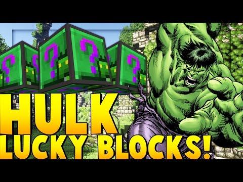 HULK AVENGERS LUCKY BLOCK MOD CHALLENGE | Minecraft - Lucky Block Mod