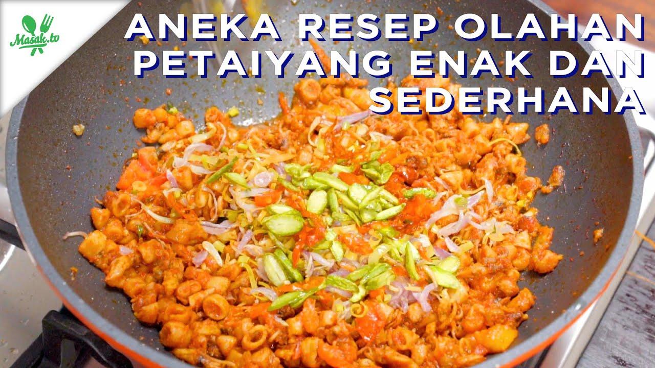 Resep Olahan Petai YANG ENAK DAN SEDERHANA!