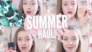 HUGE SUMMER HAUL 2016! NYX, Kylie Cosmetics & More! GIVEAWAY!