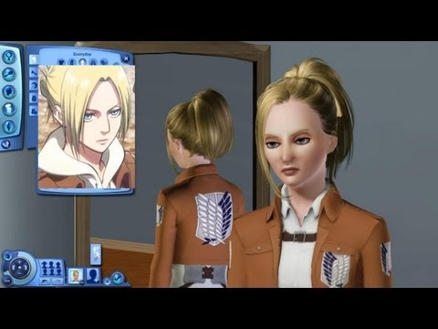 Attack on Sims 3