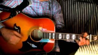 Der Junge mit der Mundharmonika Bernd Clüver Cover Akustikgitarre Epiphone Dove Pro VB & Bluesharp