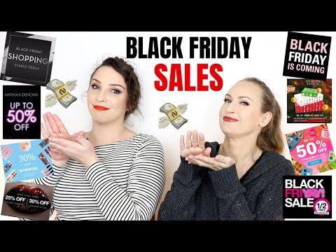 BLACK FRIDAY & CYBER MONDAY 2019   Makeup & Beauty Sales!