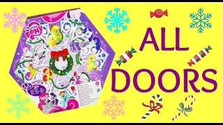 My Little Pony Advent Calendar - All Doors