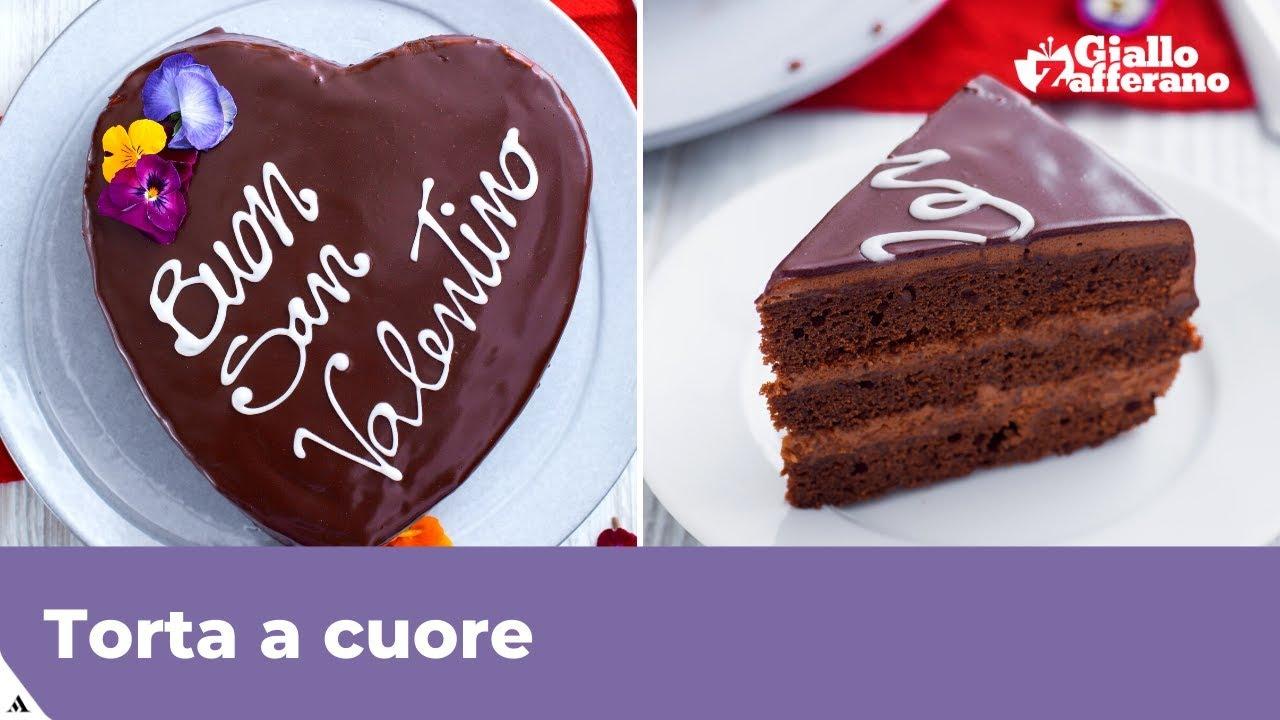 Ricetta Torta Al Cioccolato A Forma Di Cuore.Torta Cuore Al Cioccolato Torta Per S Valentino E Non Solo Youtube