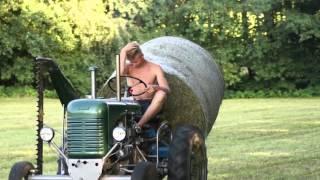 Landwirtschaft (Mähen, Ballentransport, ...)   HD 1080p