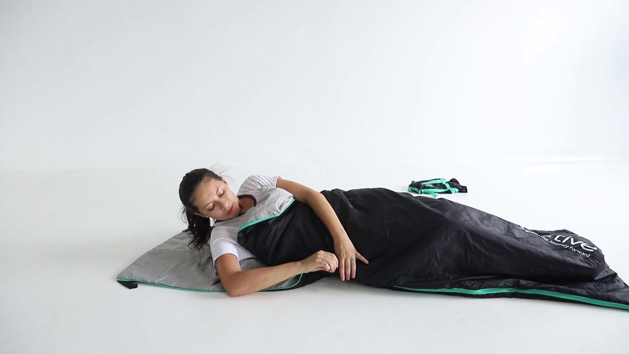 "FE Active ""Zeros"" Sleeping Bag Set-Up Guide"