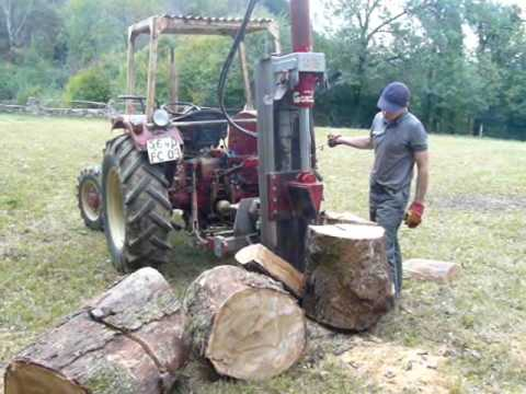 Le bois de chauffage youtube - Machine couper bois chauffage ...