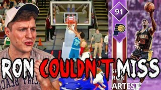 Ron Artest Is A GOD! NBA 2K18 Super Max Road to Pink Diamond #1