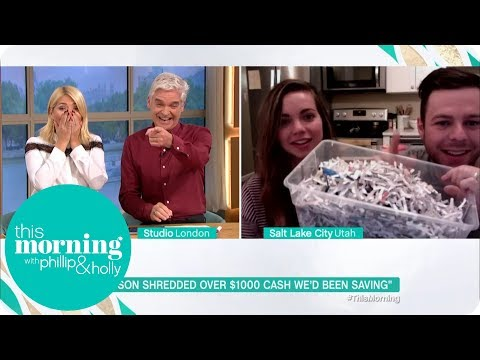Our Son Shredded $1000 in Cash! | This Morning