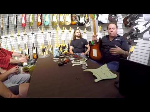 Fender Custom Shop Roadshow 2016 with John Cruz at The Music Gallery Part 3