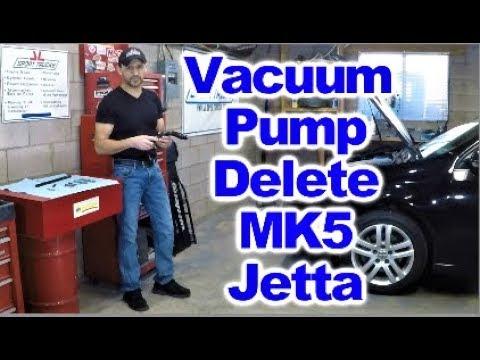 replacing vw  vacuum pump  easy  doovi