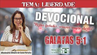 """Devocional - """"Liberdade"""" - 23/06/2020"""