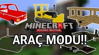 Minecraft PE Araç Modu!! - Mech Mod
