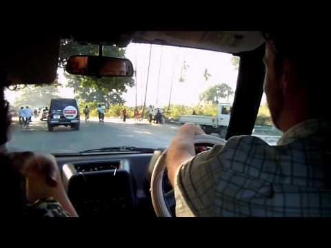 Zanzibar car ride