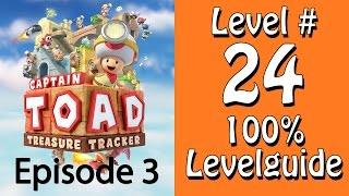 Captain Toad Treasure Tracker - 100% Guide - Level 24 - Auf den Dächern hin und her